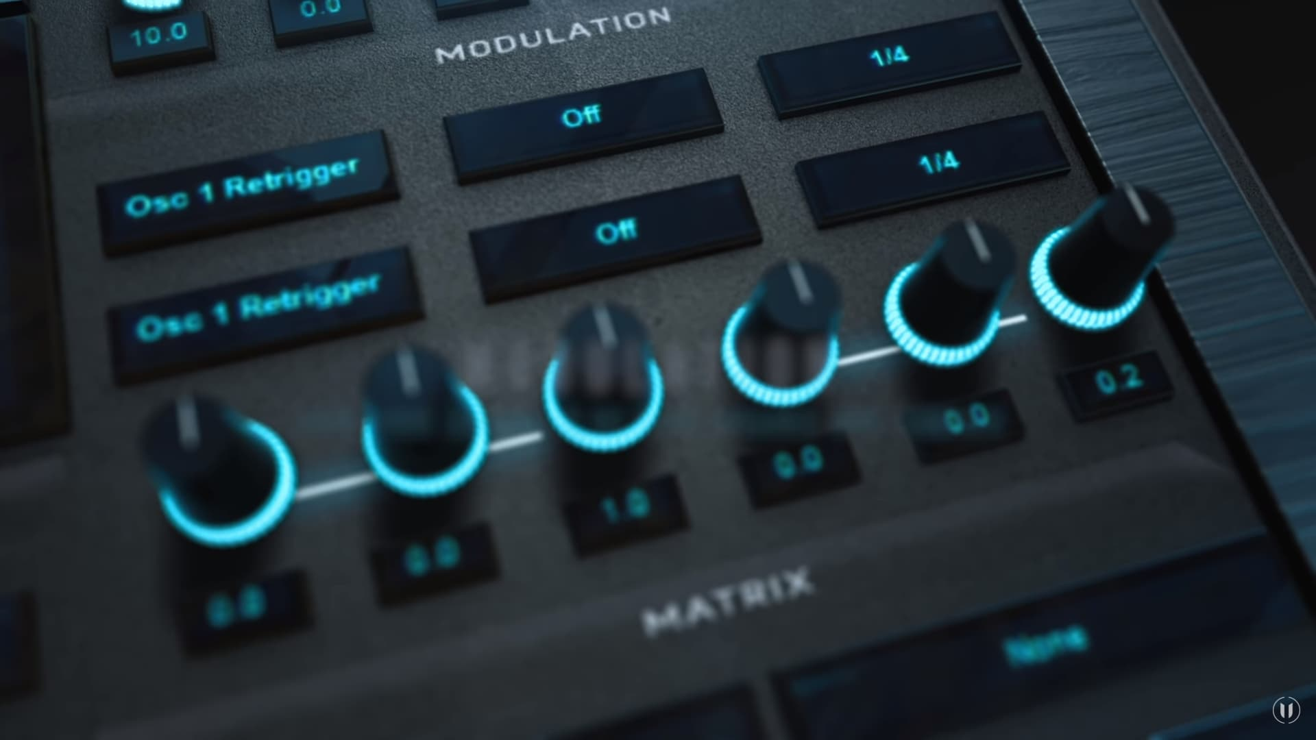 Genesis Pro Modulation close up